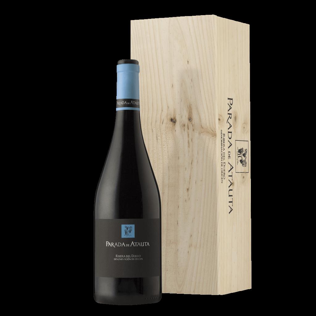wine Parada de Atauta Magnum  wooden box terraselecta
