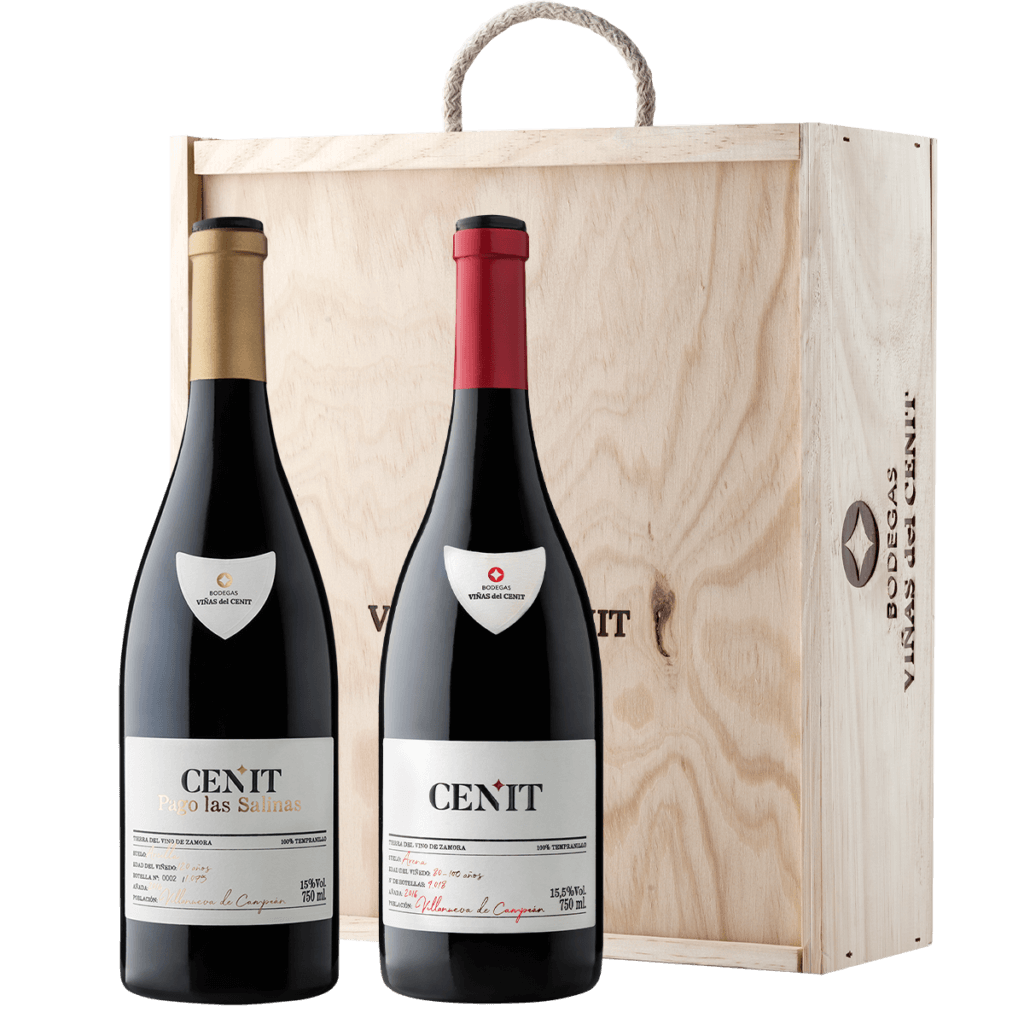 vino Estuche Viñas del Cenit Premium terraselecta