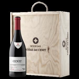 vino Cenit Caja de madera 3 botellas terraselecta
