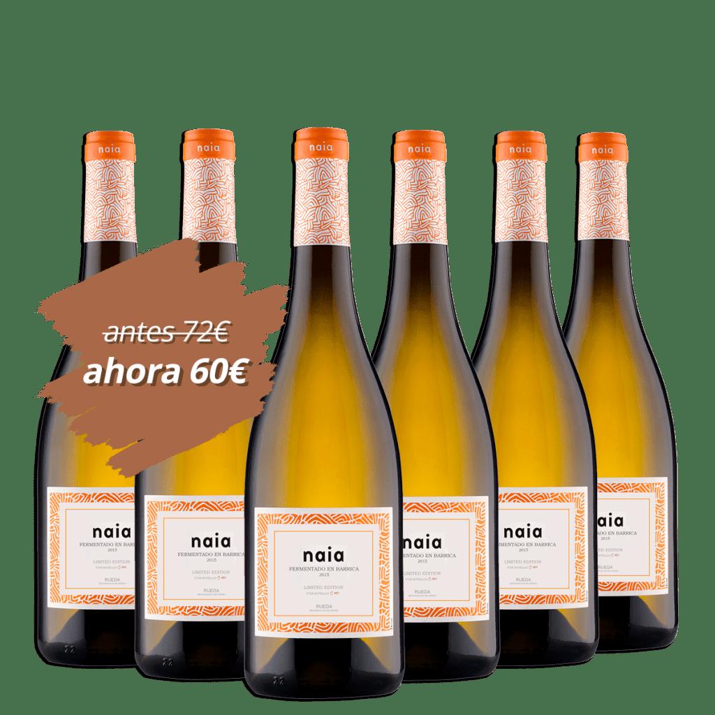 TerraSelecta Naia fermentado barrica promoción