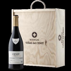 vino Cenit Pago de Las Salinas estuche madera 3 unidades terraselecta