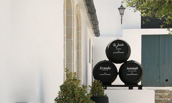 Bodega Álvaro Domecq barriles de vino - Terraselecta