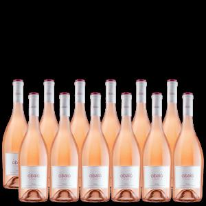 12 botellas vino rosado