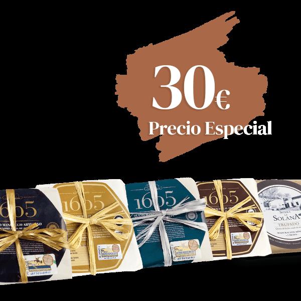 Promo quesos 30 euros